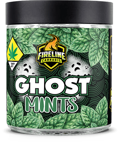 Ghost Mints Marijuana Weed Pot Flower Bud