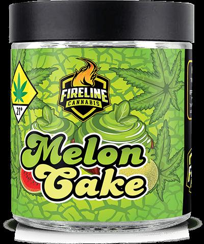 Melon Cake Marijuana Weed Pot Flower Bud