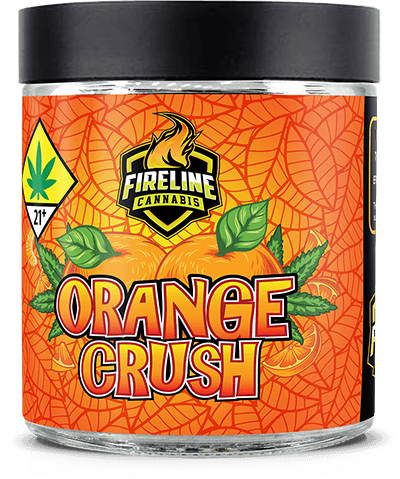 Orange Crush Marijuana Weed Pot Flower Bud