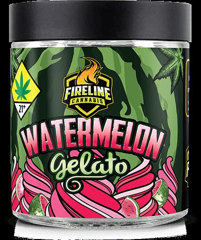 Watermelon Gelato Marijuana Weed Pot Flower Bud