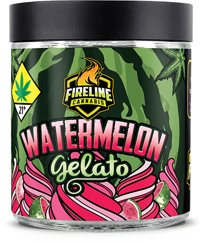 Watermelon Gelato Marijuana Weed Pot Flower Bud