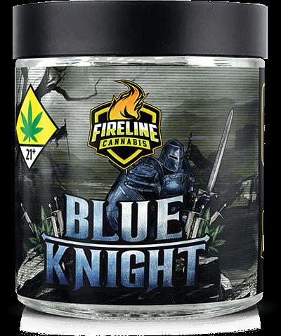Blue Knight Marijuana Weed Pot Flower Bud