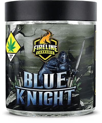 Blue Knight Marijuana Weed Pot Flower Bud