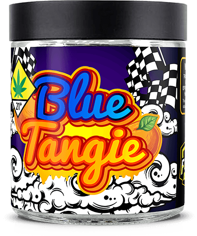 Blue Tangie Marijuana Weed Pot Flower Bud