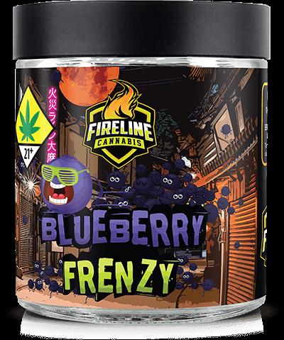 Blueberry Frenzy Marijuana Weed Pot Flower Bud