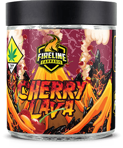 Cherry Lava Marijuana Weed Pot Flower Bud