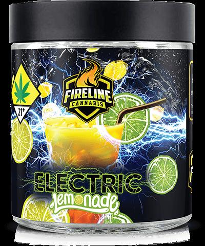 Electric Lemonade Marijuana Weed Pot Flower Bud