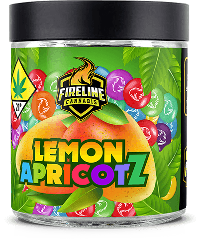 Lemon ApricotZ Marijuana Weed Pot Flower Bud