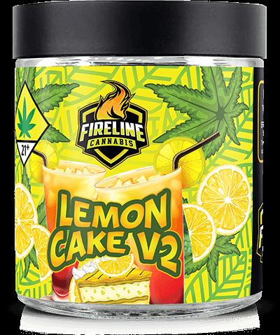 Lemon Cake V2 Marijuana Weed Pot Flower Bud