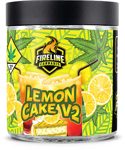 Lemon Cake V2 Marijuana Weed Pot Flower Bud