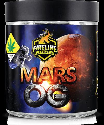 Mars OG Marijuana Weed Pot Flower Bud