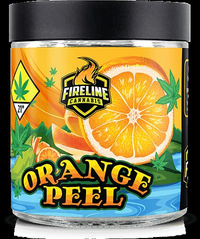 Orange Peel Marijuana Weed Pot Flower Bud