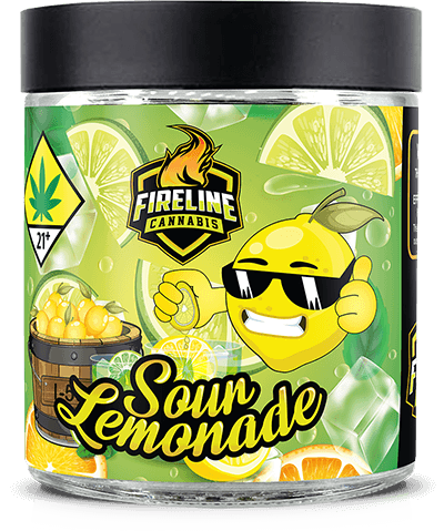 Sour Lemonade Marijuana Weed Pot Flower Bud