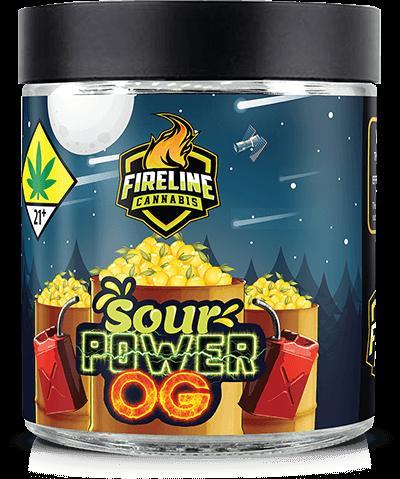 Sour Power OG Marijuana Weed Pot Flower Bud