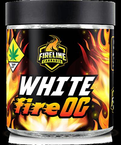 White Fire OG Marijuana Weed Pot Flower Bud