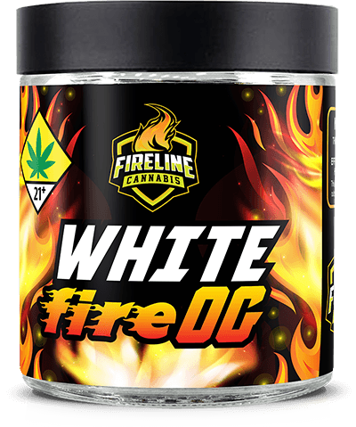 White Fire OG Marijuana Weed Pot Flower Bud