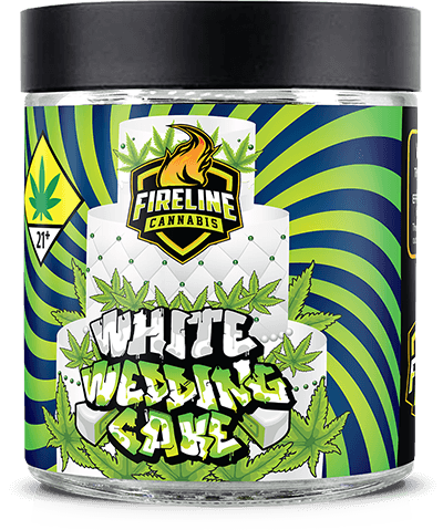 White Wedding Cake Marijuana Weed Pot Flower Bud